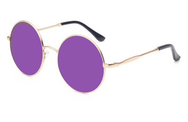 圓形太陽眼鏡