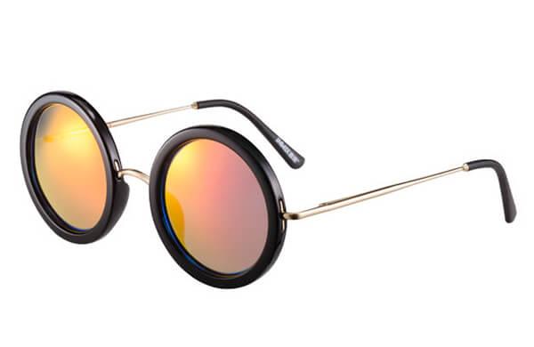 圓型鏡框太陽眼鏡