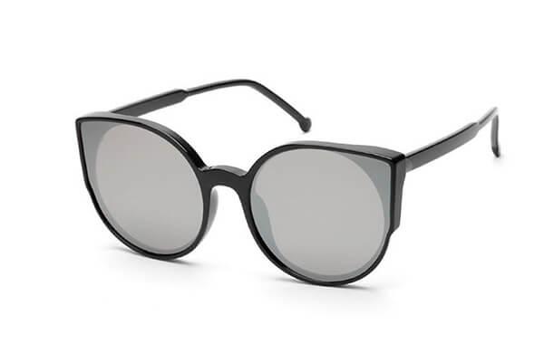 貓眼型鏡框太陽眼鏡