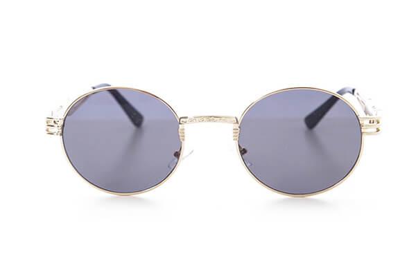橢圓形鏡框太陽眼鏡