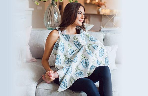圍裙式哺乳巾
