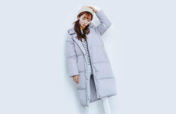 保暖性羽絨外套