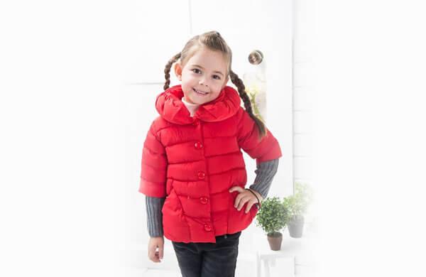 兒童羽絨外套