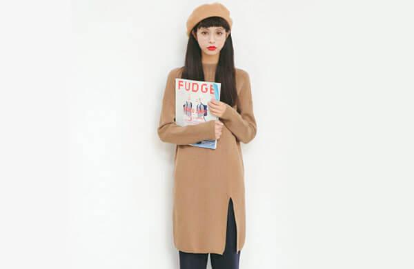 Polyester滌綸女針織衫