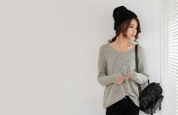 羊毛女針織衫