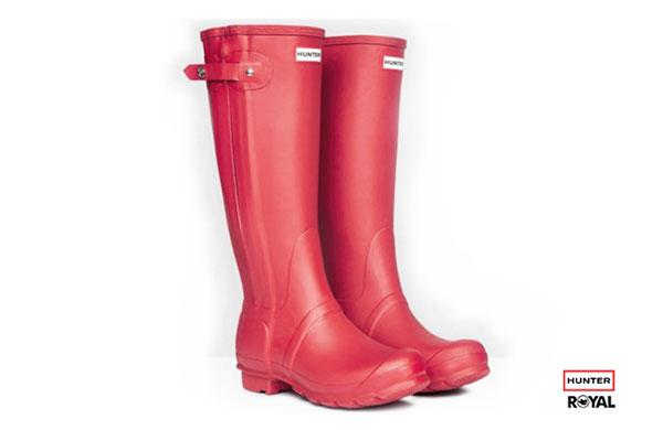 雨靴品牌選擇(以英國品牌Hunter為例)