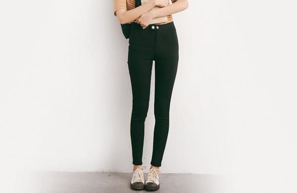 彈性鉛筆長褲