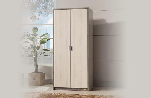 雙門型衣櫃
