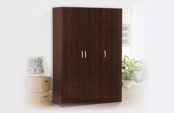 胡桃木衣櫃