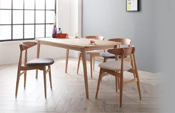 北歐風餐廳桌椅組