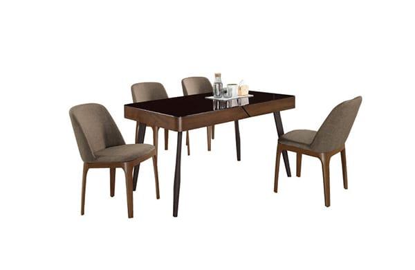 現代風餐廳桌椅組