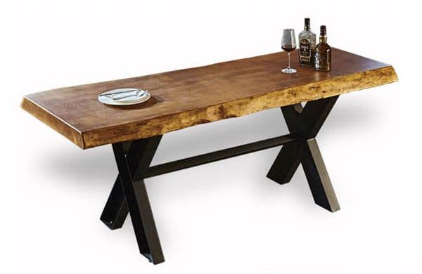 復古風餐廳桌椅組
