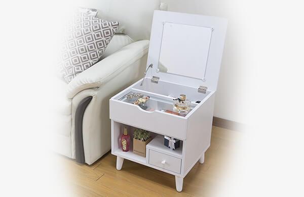 化妝合板製抽屜櫃