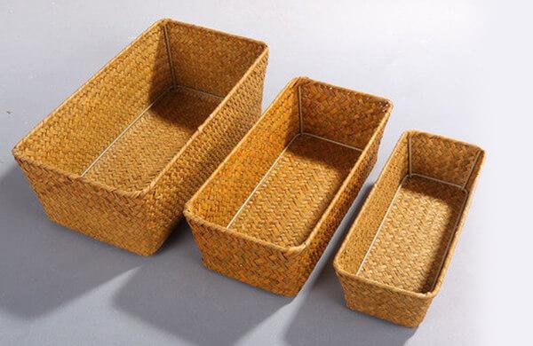 竹製收納箱
