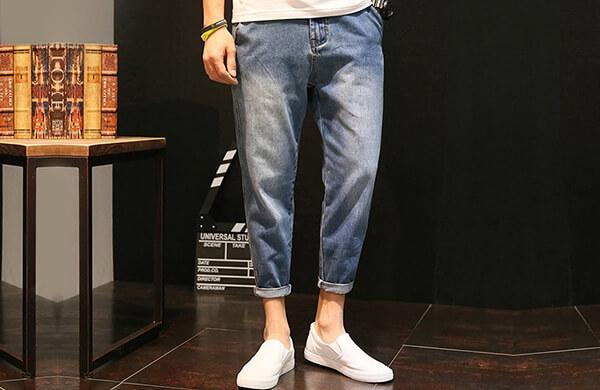 飛鼠牛仔褲