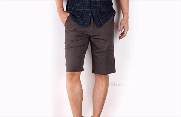 男短褲長度