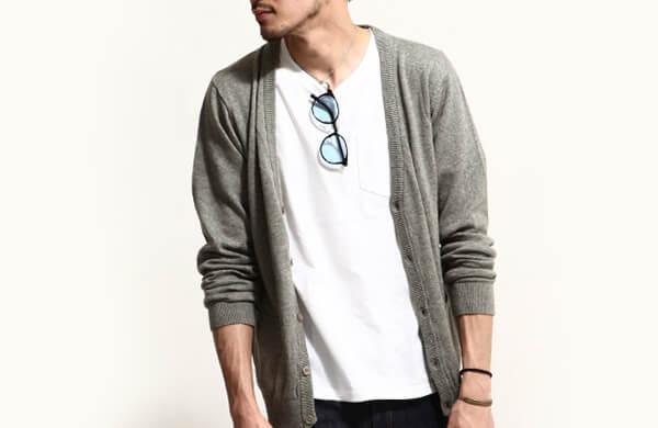 素色針織衫