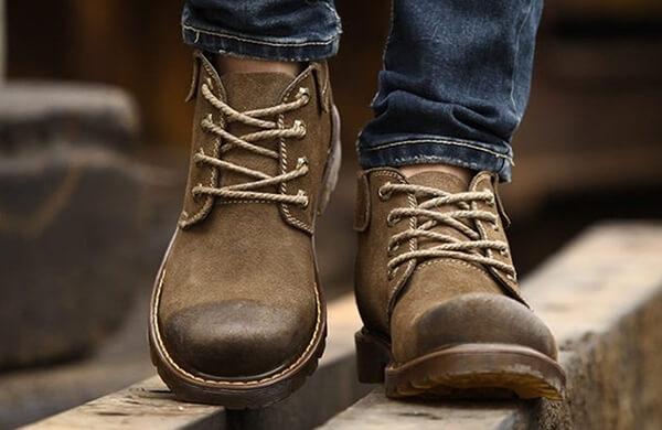 什麼是男工作靴
