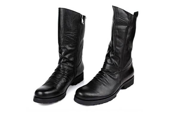 男長筒工作靴
