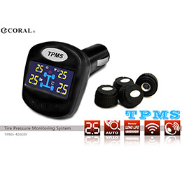 CORAL DIY外置式 無線胎壓偵測器 TPMS403