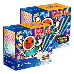 PS Vita 太鼓達人主機同捆組(VLAS-36081T)