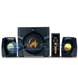 Genius昆盈 GX-Gaming 系列 SW-G2.1 3000 金燦飛蠍重低音音響組