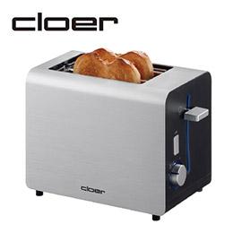 【Cloer】時尚多功能烤麵包機(璀璨白)