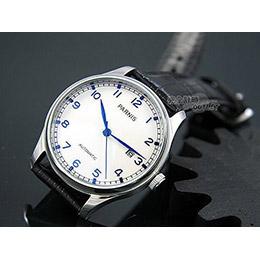 PARNIS 瑞典軍錶風 動力儲存自動機械錶