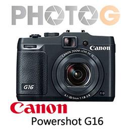 Canon PowerShot G16 類單眼