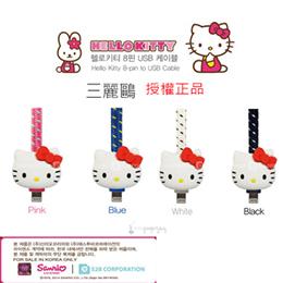 韓國直送正版授權Hello Kitty 傳輸線