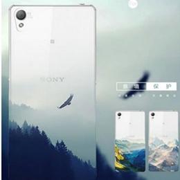SONY Z5 premium 手機殼(超薄/磨砂/浮雕/清新/山水)