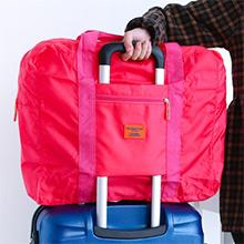 防水超大容量摺疊行李袋 旅遊必備組