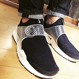Nike藤原浩黑白經典情侶款