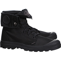 Palladium Attractive 黑色防潑水中統靴