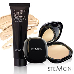 STEMCIN美肌模式修容粉底超值3件組