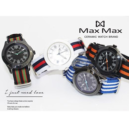 Max Max夏日限定玩色錶款