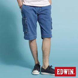 EDWIN KHAKI 口袋工作短褲