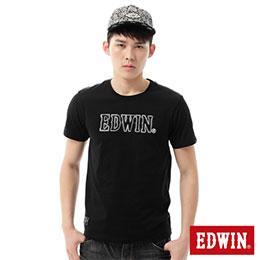 EDWIN 3M反光LOGOT恤