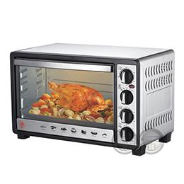 晶工 30L雙溫控不鏽鋼旋風烤箱