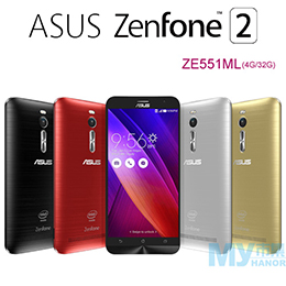 ASUS ZenFone2 ZE551ML LTE+GSM雙卡手機(4G/32G)