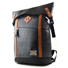 設計師款重磅皮革後背包