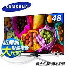SAMSUNG三星 48吋 LED 液晶電視【UA48J6300】黃金曲面