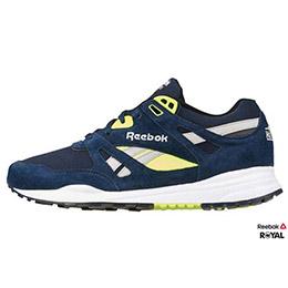 Reebok VENTILATOP POP 深藍/螢綠 Classic復古 潮流鞋
