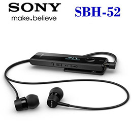 SONY SBH-52 (黑色)原廠藍芽耳機