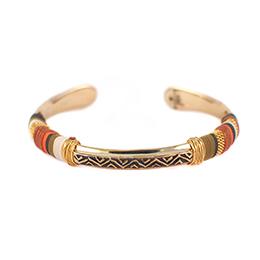 手編拋光黃銅手環