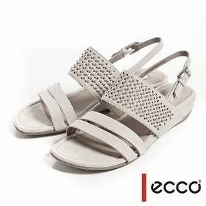時尚設計亮鑽平底涼鞋