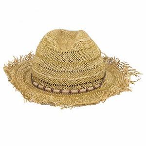 木珠飾帶草帽