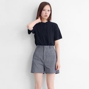 胡桃木紋短褲褲
