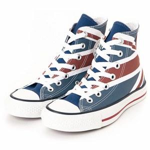 國家系列中筒帆布鞋
