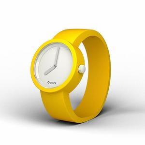 GIALLO SEGNALE 設計錶